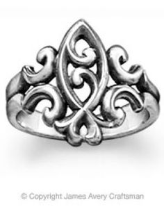 #ichthus James Avery ring
