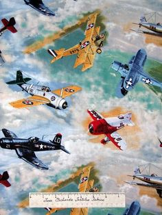 vintage aircraft art