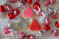 holiday, food sweet, kiss dahl, life, valentine day, kiss cooki, hershey's, hershey kisses, cookies