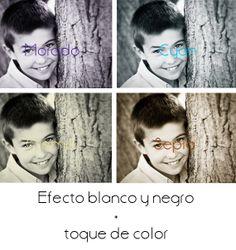 Blanc i negre amb una mica de color! :)