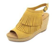 Minnetonka Ashley Sandal [love this yellow]