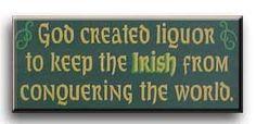 Irish liquor