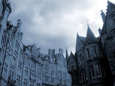 Spires, Edinburgh, Scotland