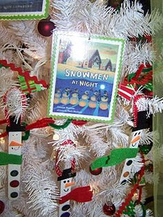 This idea is so cute!  Get 15  christmas books - wrap them.   Then unwrap one each day until Christmas then make an ornament that goes with the theme of the book for your tree!!!  Awesome.