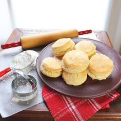 Buttermilk Biscuits Reliable high rising buttermilk biscuits! Excellent with cream gravy and sausage.