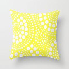 Pattern Yellow Throw Pillow pattern, yellow throw pillows