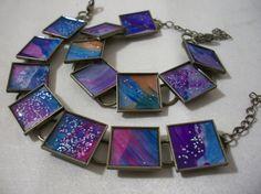 Childrens' artwork bracelets These bracelets by jessicamwisniewski,