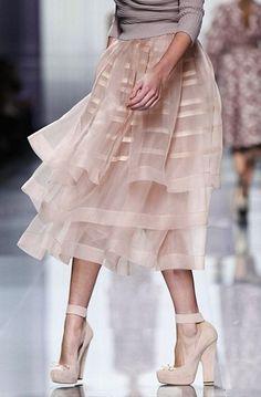 yummy chiffon skirt