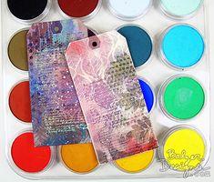 PanPastels+stencils+stamps