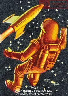 Love vintage space stuff...