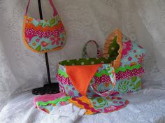 Doll Bed and Diaper Bag Set  Custom Made Other by thatssewholly