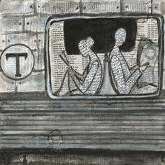 Lectura de metro.