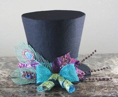 Top Hat Christmas Tree Topper from partydreams on Etsy - $30.00
