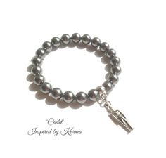 USMA Cadet Bracelet - $43.00 - Handmade Jewelry, Crafts and Unique Gifts by Inspired by Karma #usma #usmagifts #handmadejewelry #usmacadets