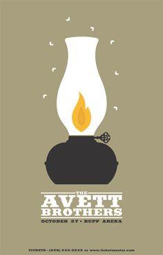 The Avett Brothers Poster..JC
