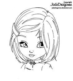 Asian girl by *JadeDragonne on deviantART