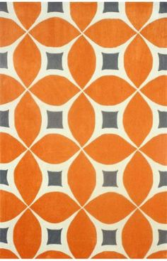 Rugs USA Radiante Trellis BC55 Deep Orange Rug