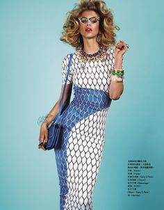 Pattern, great fabric, great colors..amaze punk classy look.