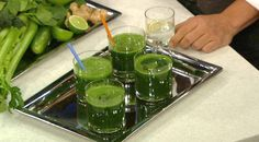 the chew | Recipe  | Daphne Oz's Green Drink