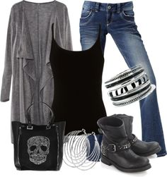 """""""Rock Concert"""" by mhuffman1282 ❤ liked on Polyvore ~~ Just have to get the purse and I'll have the outfit. Woo Hoo!! :)"""