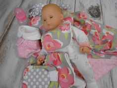 Just Like Mommy   Chic Bitty Baby Doll Diaper Bag by LimeSewda