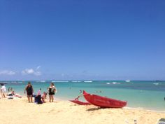 Kaimana Beach is a great way to escape the hustle and bustle of Waikiki without venturing very far away.