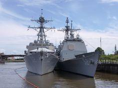 Navy ships.....
