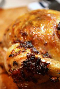 Roast Chicken with Prosciutto