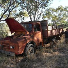Abandoned Opal Truck