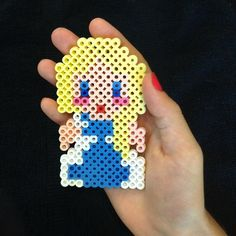 Elsa - Frozen perler beads by the_craft_central