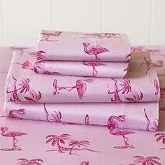 Pottery Barn Flamingo Sheets