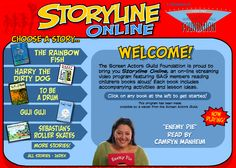 http://www.storylineonline.net/  - AWESOME AWESOME AWESOME website!