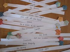 star words~ affirmations by Regina (creative kismet), via Flickr