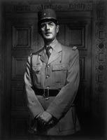 Charles de Gaulle (1890-1970), 11 July 1944, Yousuf Karsh