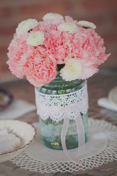 Flowers.  Tea party. Bridal shower.  Engagement party. Rehearsal dinner.  Event planning ideas.