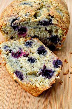 Blueberry zucchini bread. No one makes it better than @Susan Gaitaniella