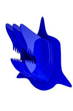 Acrylic Shark Head Taxidermy Home Decor