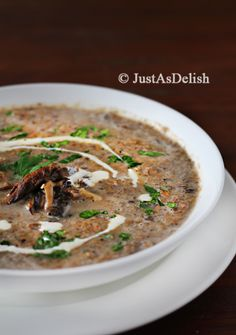 The Real Mushroom Soup
