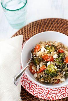 feta, anni eat, food, roast tomato, broccoli