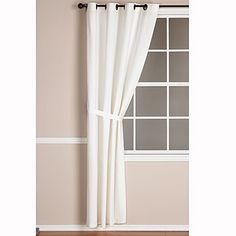 White Harper Curtain