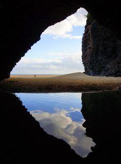 ✯ Kalalau Beach Cave - Kauai, Hawaii