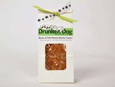 Drunken Dog Treats! They're made from leftover grains from local beer breweries! GO BUY SOME! HSV folks- she's local- support her!!