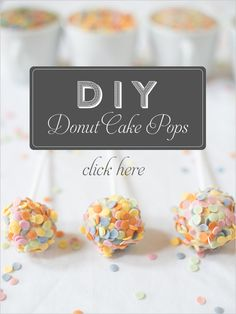 DIY Sprinkle dessert table ideas and DIYs. Curated By: Bespoke Bride #weddingchicks http://www.weddingchicks.com/2014/09/29/diy-sprinkle-dessert-table-ideas/