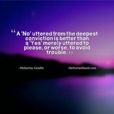 Gandhi #quote