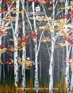 Autumn Woods Painting - Jackie Schon, The Paint Bar