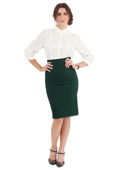 I'll Have the Usual Skirt in Pine