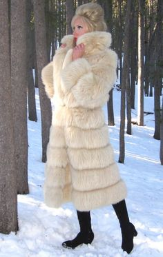 cute vintage fur coat