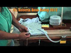 Machine Knit Lace Vest