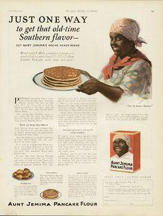 Aunt Jemima Collectibles Pancake Flour Ad