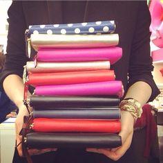 Kate Spade Wallets. katespad, fashion, purs, spade wallet, accessori, bag, clutch, carri, kate spade